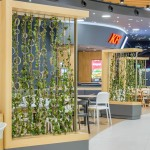 green wall mobilier separator food-court_14